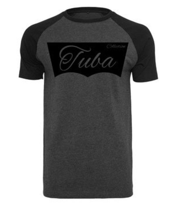 Tuba Collection T- Shirt - Tuba Design (Dunkelgrau)