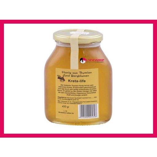 Thymian und Bergblumen Honig  450g
