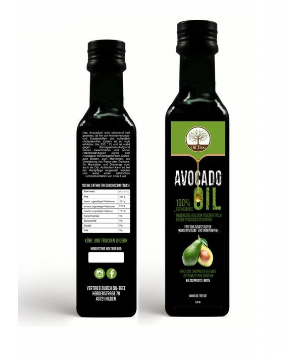 Avocadoöl - 250ml