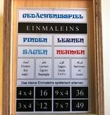 """Gedächtnisspiel """"Einmaleins"""""""