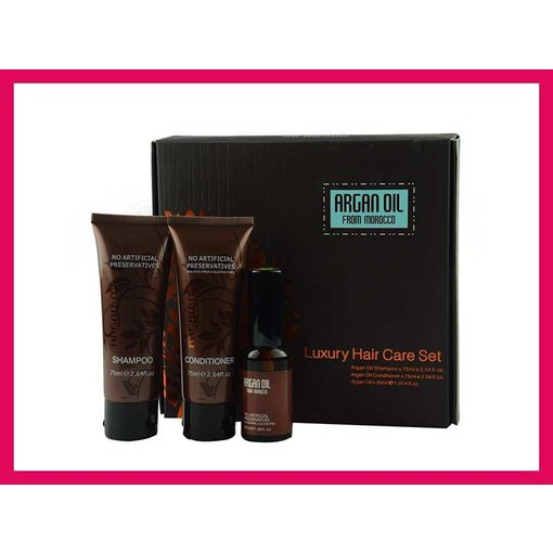 Luxury Hair Care Set (Argan oil)