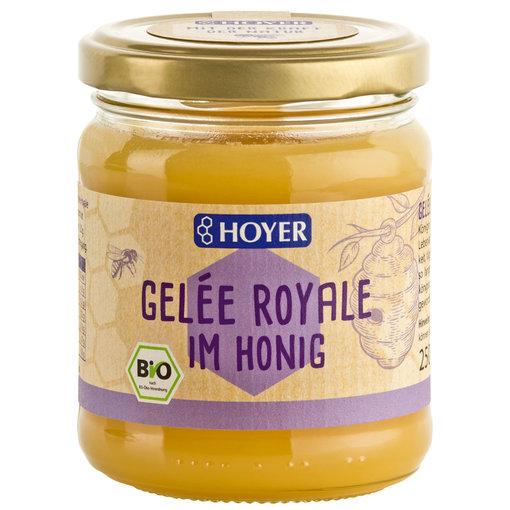 Gelee Royal im Honig 250ml BIO - Copy