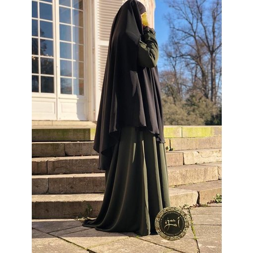 Umm Hamza Dress - Ruqaya 2 - Khimar 011