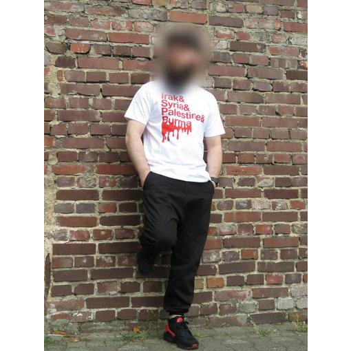 T-Shirt Irak,Syrien,Palästina Blut (Länder)