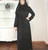 JORDANIEN COLLECTION (Black Edition) ABAYA Nr 04