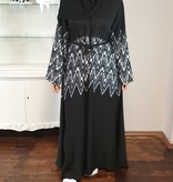 JORDANIEN COLLECTION (Black Edition)  ABAYA Nr 13