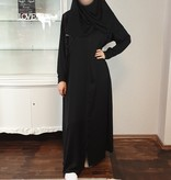 JORDANIEN COLLECTION (Black Edition)  ABAYA Nr 19
