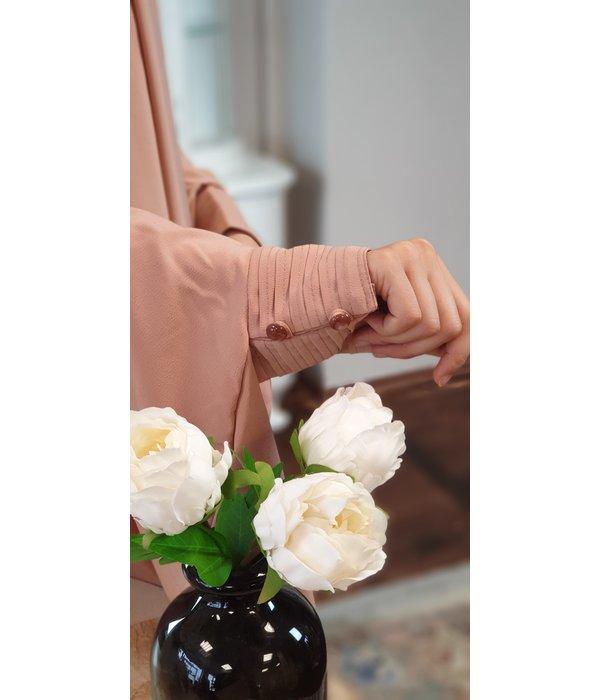 Khimar Set - Puder/Rosé