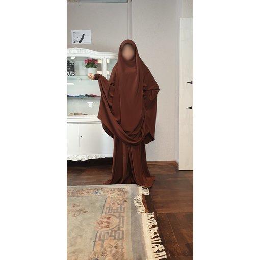 Khimar Set - Dorra Al Maknouna - braun