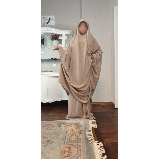 Khimar Set - Dorra Al Maknouna - beige