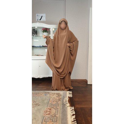 Khimar Set - Dorra Al Maknouna - caramel