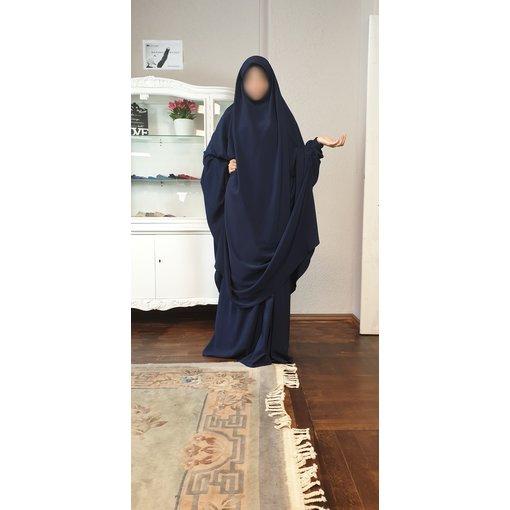 Khimar Set - Dorra Al Maknouna - dunkelblau