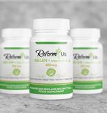 ReformUs ReformUs Selen + Vitamin A, C, E 200 mcg – 120 vegan-Tabletten