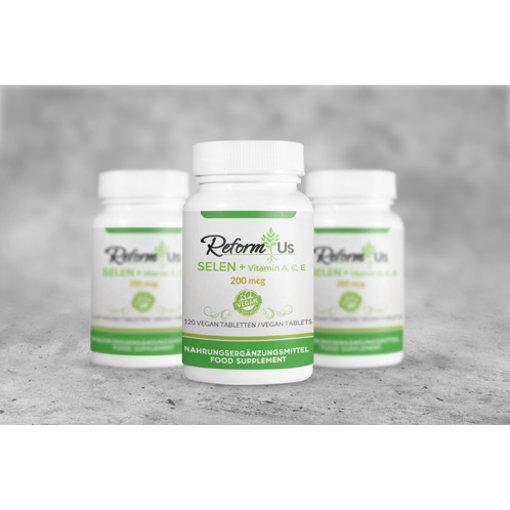 ReformUs ReformUs Selen + Vitamin A, C, E 200 mcg