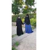 Dorra Al Maknouna Abaya mit Gummiärmeln