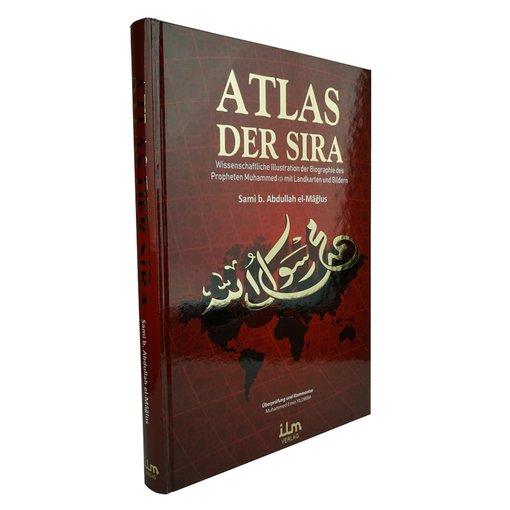 Atlas der Sira - Wissenschaftliche Illustration der Biographie des Propheten Muhammed mit Landkarten und Bildern