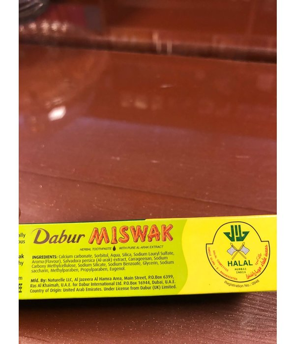 Dabur Miswak (Zahnpasta) 120g+50g