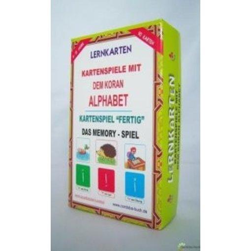 Lernkarten - Kartenspiele mit dem Koran-Alphabet