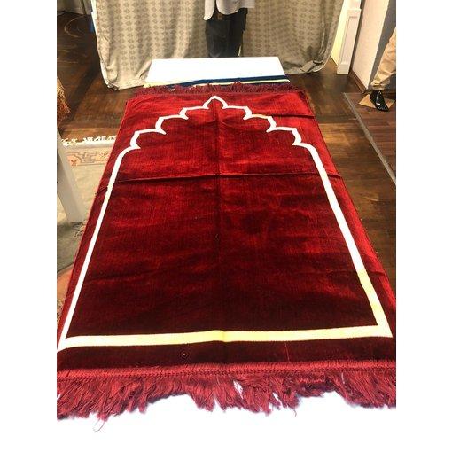 Gebetsteppich Rot