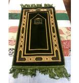 Gebetsteppich Grün Kaaba (Kleinkind L 55cm B32cm)