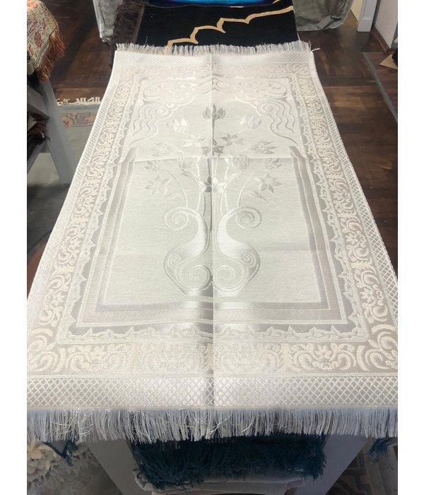 Gebetsteppich Weiß (L 112cm B 65cm)