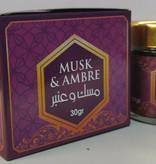 Bakhour Musk & Ambre