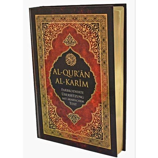 Farbkodierter Quran