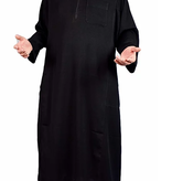 Jalabiya Qiyam Black