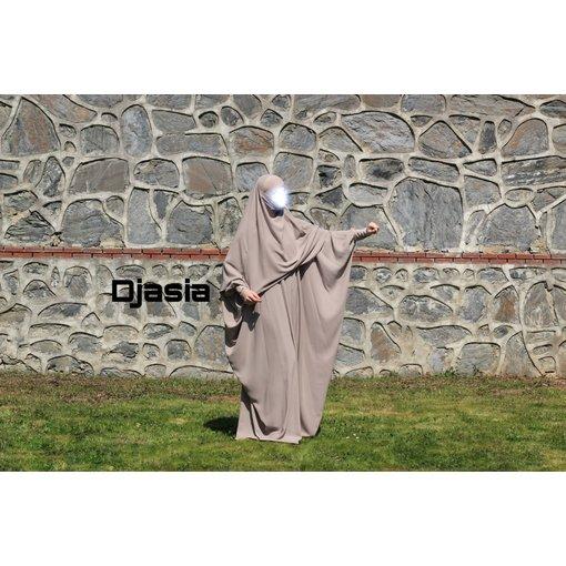 Djasia Farasha Abaya  in versch. Farben ( Medina Seide )