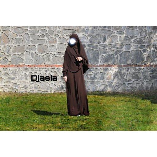 Djasia Abaya A-Linie  in versch. Farben ( Medina Seide )
