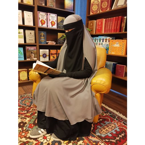 Ninja Niqab Lang (Klettverschluß )
