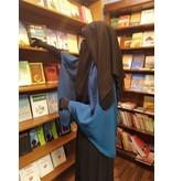 Niqab zweilagig (zum Binden dünne Bänder)