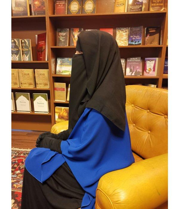 Niqab dreilagig