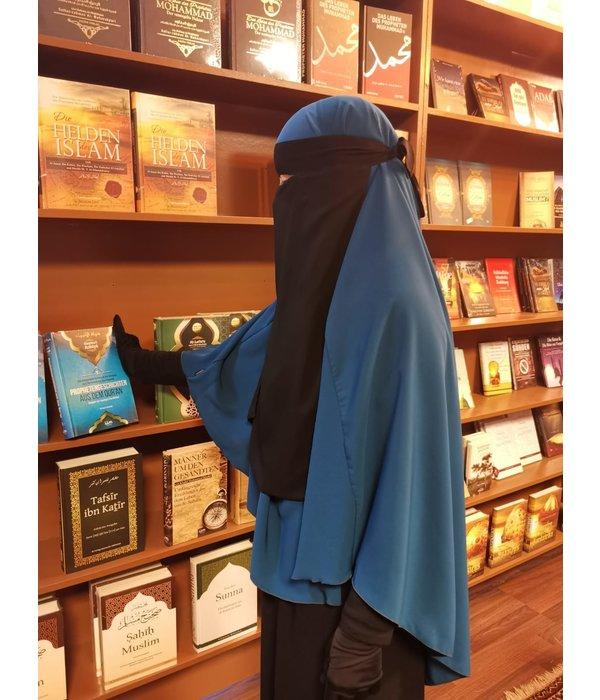 Ninja Niqab Lang  (Klettverschluß)