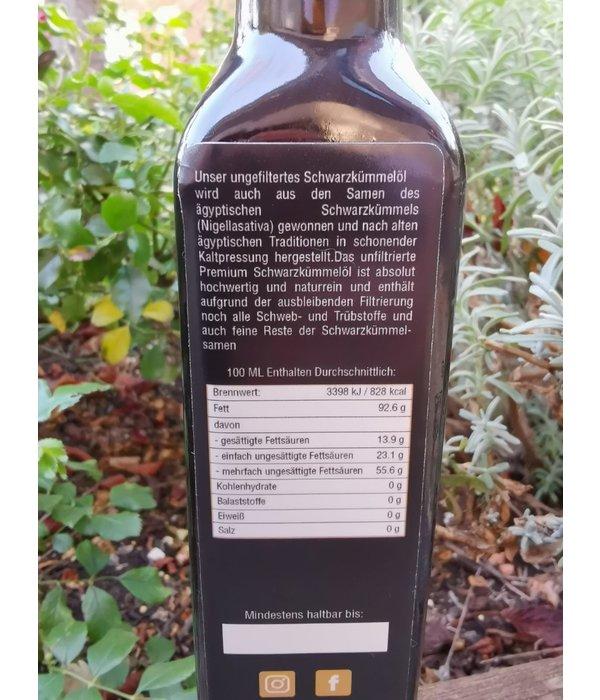 Oil tree Schwarzkümmelöl