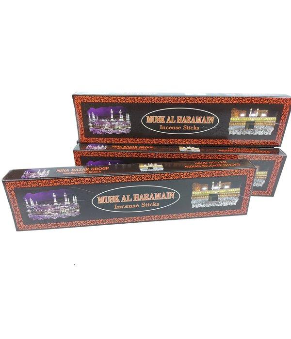 MUSK AL HARAMAIN Incense Sticks