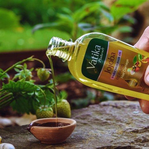 Öl Jojoba spezial Haare - Vatika NATURALS
