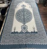 Gebetsteppich Türkis / Blau