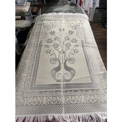 Gebetsteppich Weiß / Blume