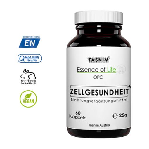 Zellgesundheit + Vitamin C – 60 Kapseln