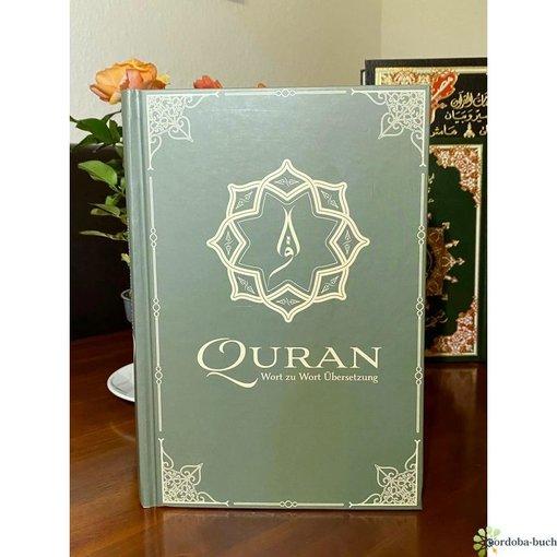Koran / Al-Quran mit farbkodierter Wort zu Wort Übersetzung
