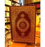 Der edle Quran und die Übersetzung seiner Bedeutungen in die französich und arabische sprache.
