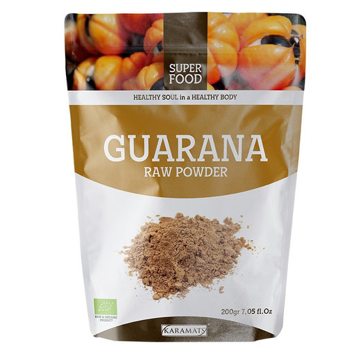 Guarana Raw Powder 200g Karamat