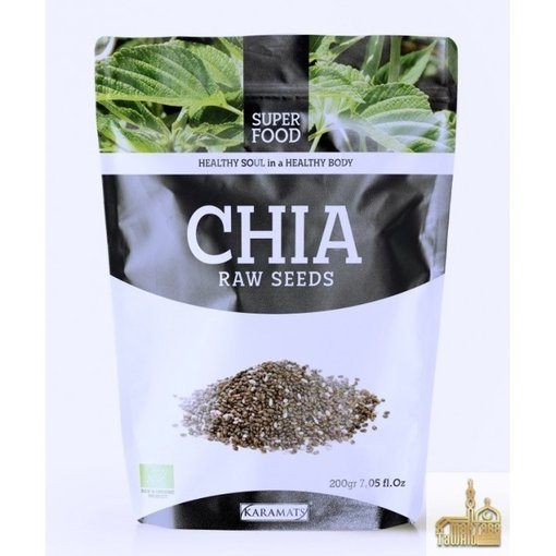 Chia Raw Seeds 200g Karamat