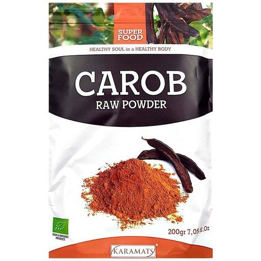 Carob Raw Powder 200g Karamat