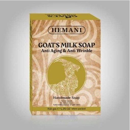 Hemani Ziegenmilch Anti Falten Seife (Handgemacht)
