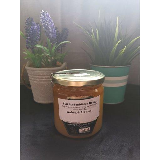 Bio-Lindenblütten Honig 500g