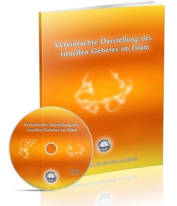 Vereinfachte Darstellung des rituellen Gebets im Islam