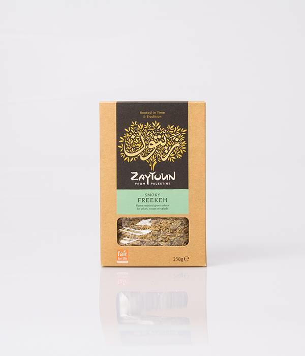 Zaytoun Freekeh 250 g (grüner Hartweizen)