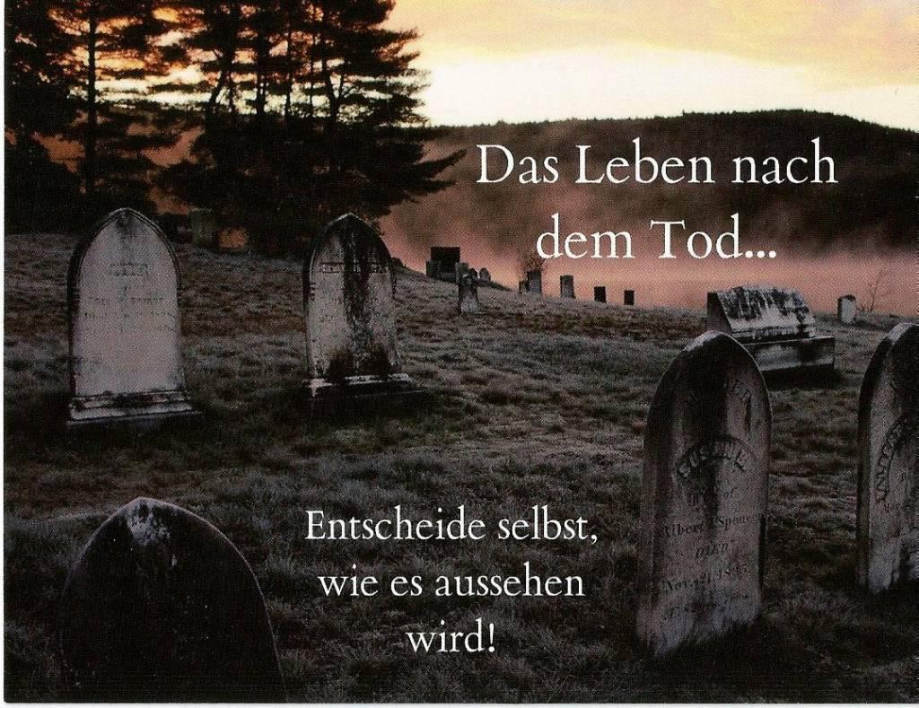 Was Ist Nach Dem Tod